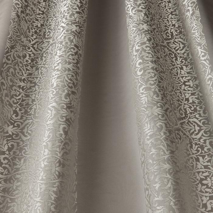 Brocade Stripe Ash Grey